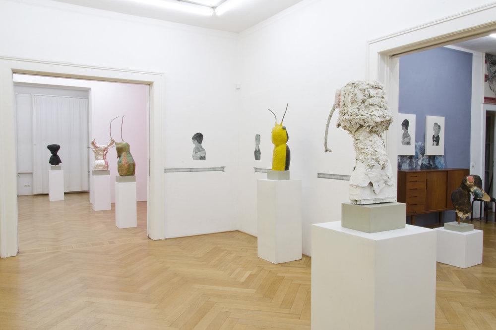 """""""Tête-à-Tête - Matthias Garff und Tim von Veh"""", Galerie Margareta Friesen, Dresden"""