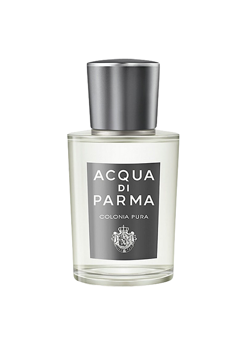 Pura - Colonia Pura radiates a sensual masculinity, combined with a fresh energy and modern lightness. Crisp and sunny bergamot, combined with juicy orange notes and delicate petit grain accents, brings new light and air into the classical citrus structure of Colonia.