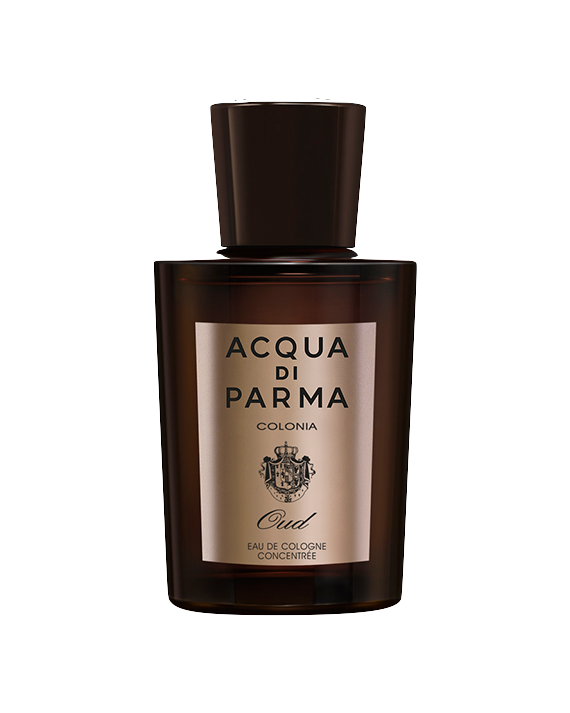 Oud - A unique and elegant creation born from the innovative union of two olfactive themes with strong personalities: the fresh, vibrant notes of Colonia and the warm, deep notes of Agarwood. A charismatic and intensely masculine fragrance.