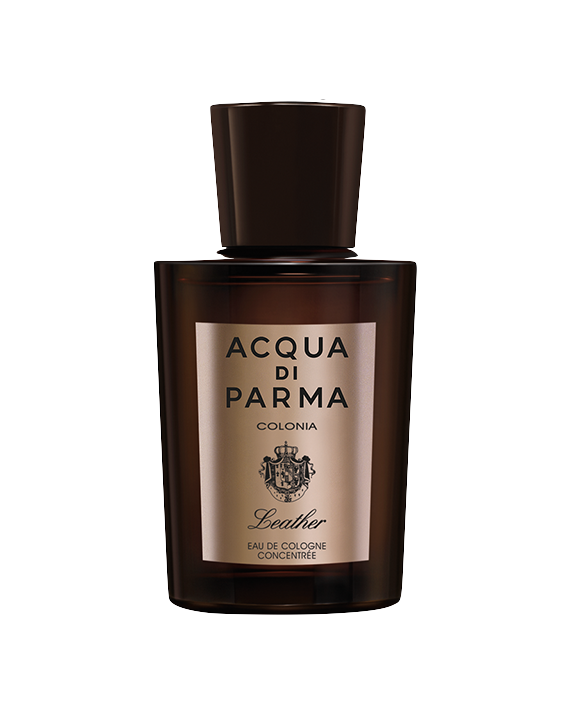 Leather - The freshness of citrus top notes, Brazilian Orange and Sicilian Lemon, which reveals a heart of Rose and Paraguayan Petitgrain and evolves into a rich base, sublimated by the union of the Leather Accord with Atlas Cedar wood and Paraguayan Guaiac.