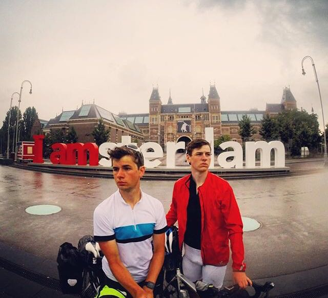 London to Amsterdam, 2016