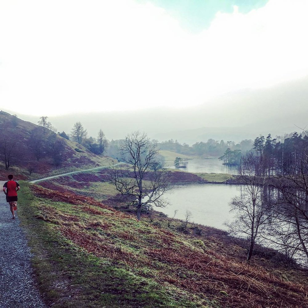 Winter base training in the Lake District, January 2017