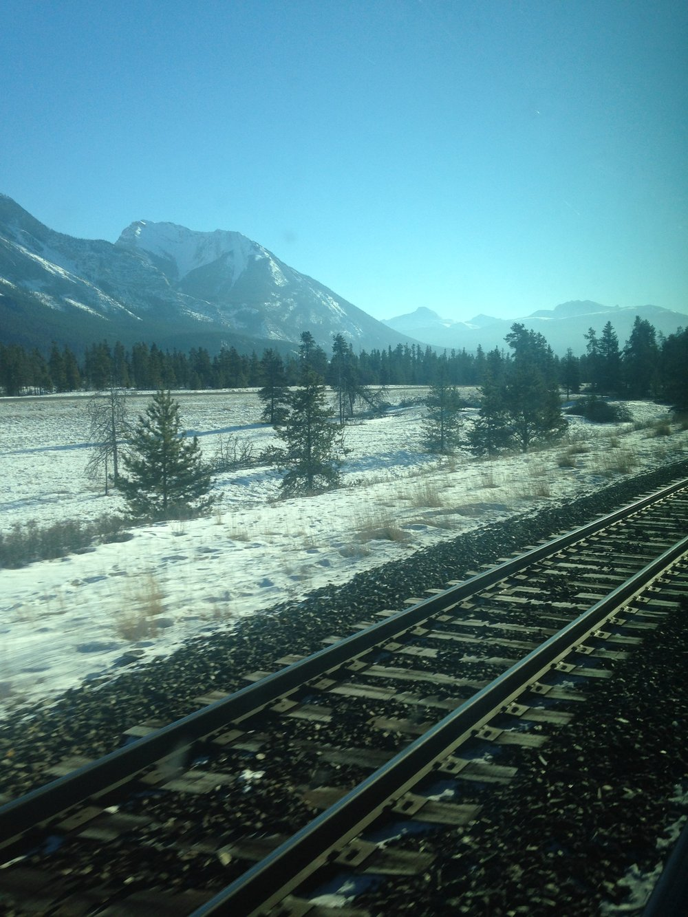 2000 miles across Canada by train, 2016