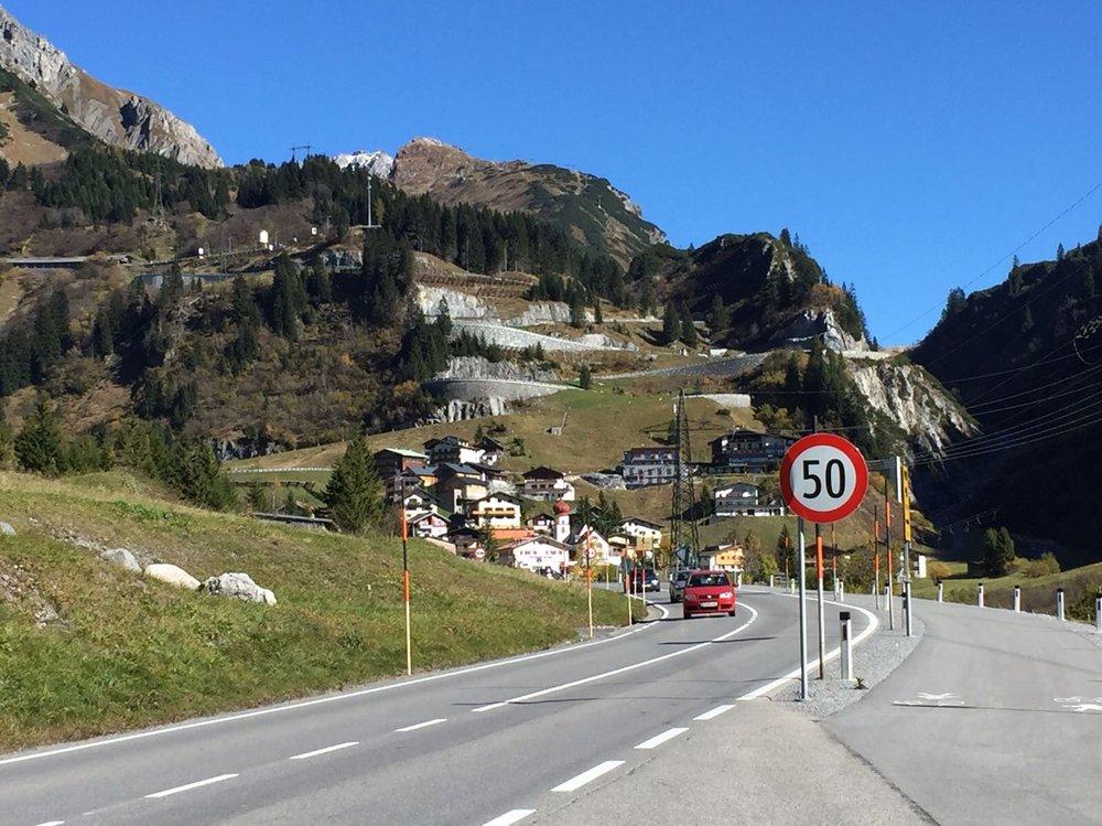 The Arlberg Pass, Austria