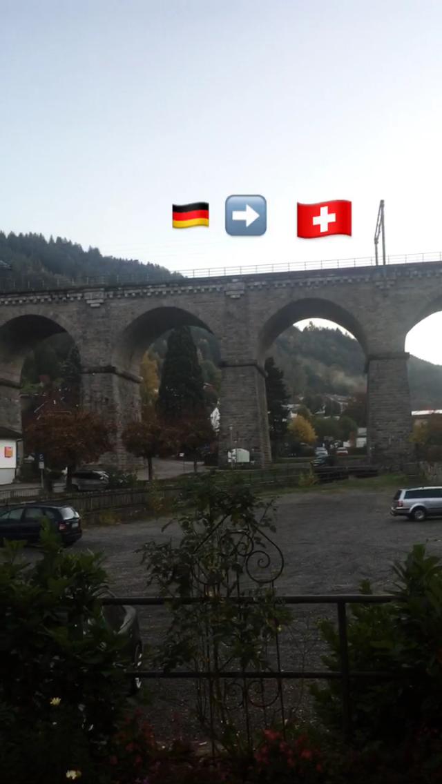 The mountain village of Hornberg, Germany