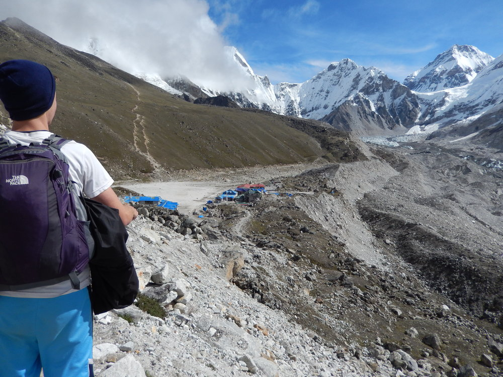 The trek to Everest Base Camp was a new type of challenge, 2013