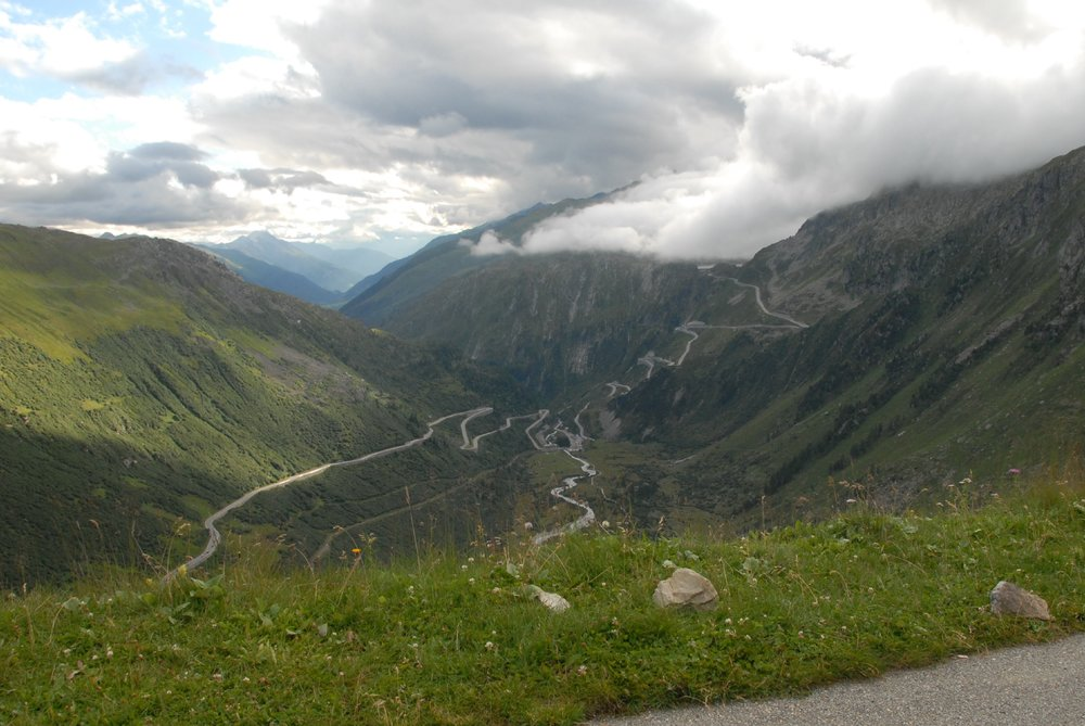Getting over the Furka Pass helped grow the adventure muscle, Switzerland, 2014