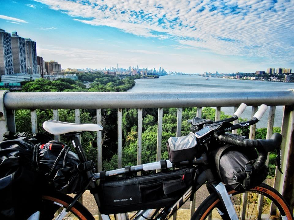 The George Washington Bridge looking south