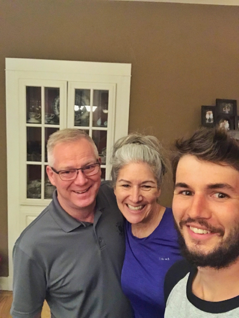 An evening with the Decker's in Siloam Springs, Arkansas