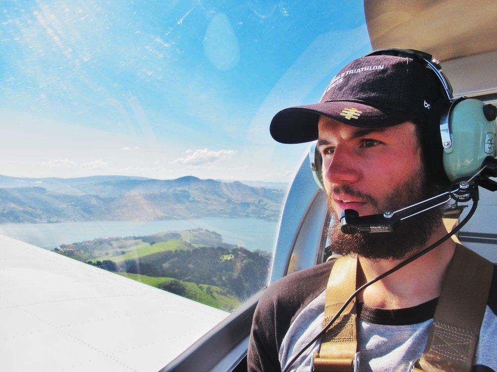 A flight over Dunedin!
