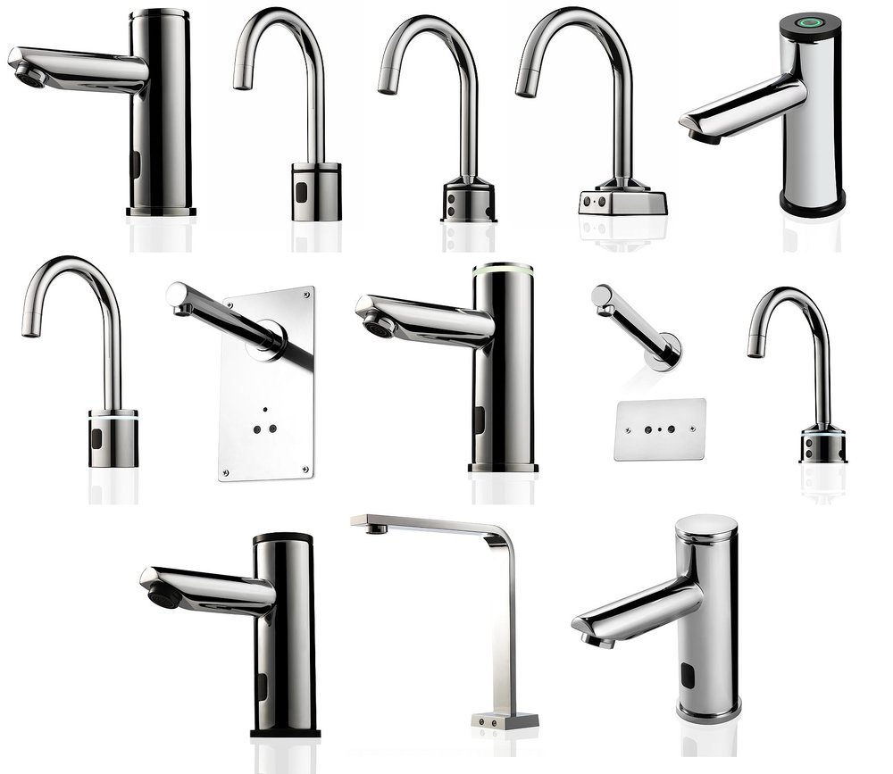 Day 1 was spent photographing the taps on a white background, we photographed around 10 taps  with 3 angles per products