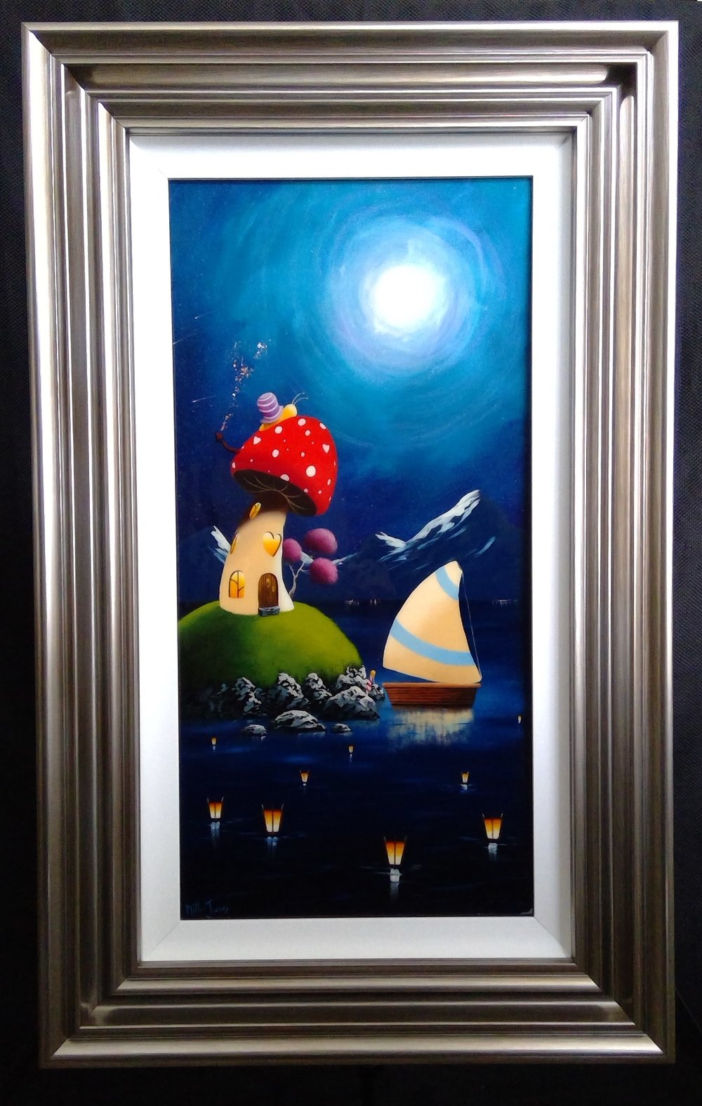 'Moonlight Cottage' - 12x24