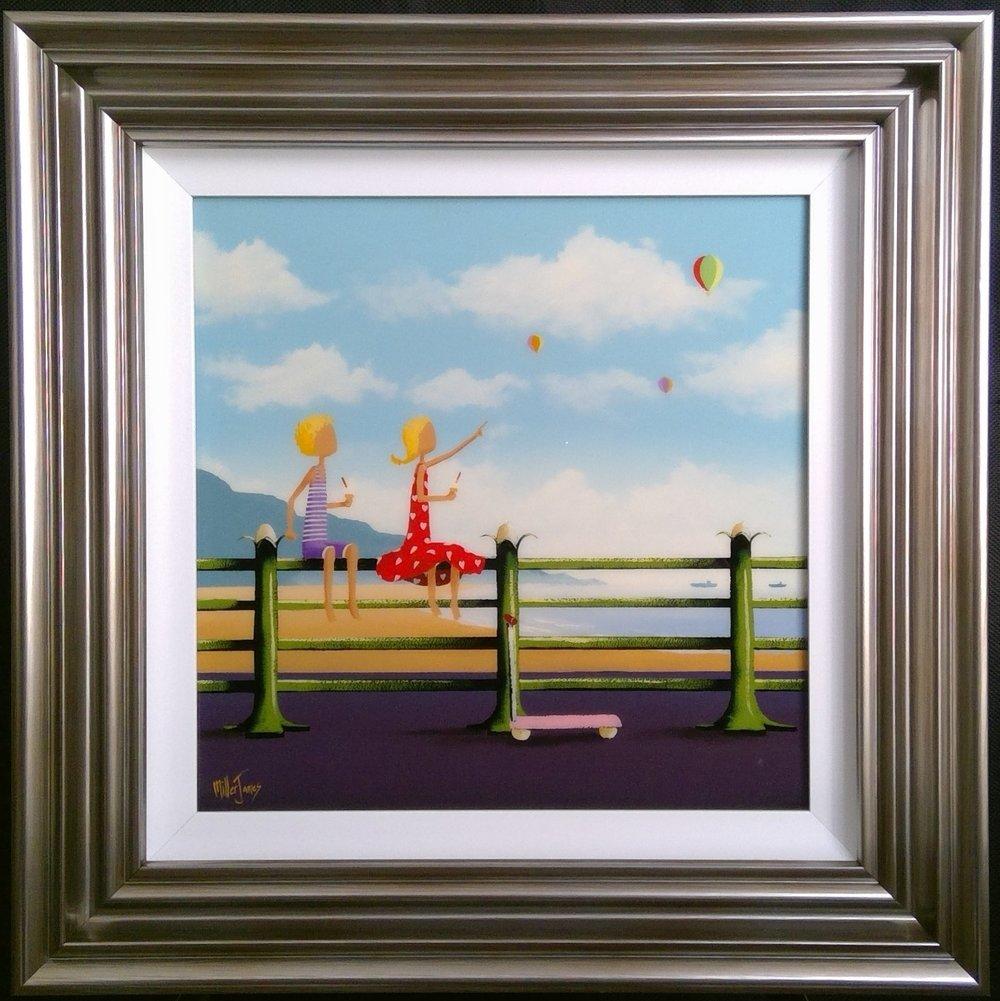 'Summer Dreaming' - Oil on panel16