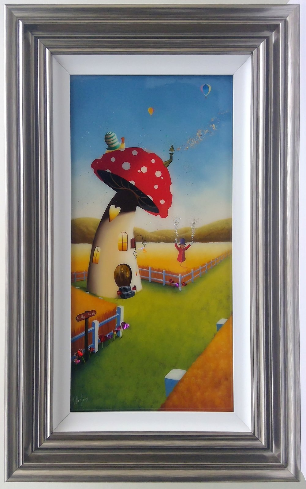 "'This Way, That Way' - Framed size 20""x32""Was £360NOW £250RESERVED"