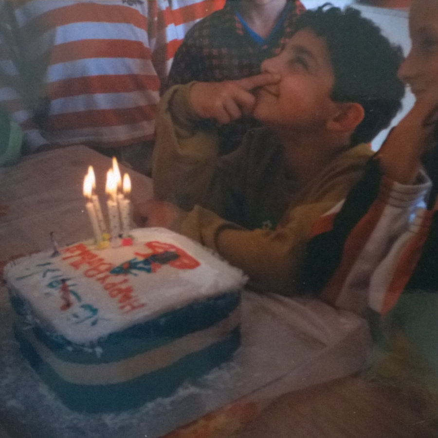 (Birthday wishes at 6)