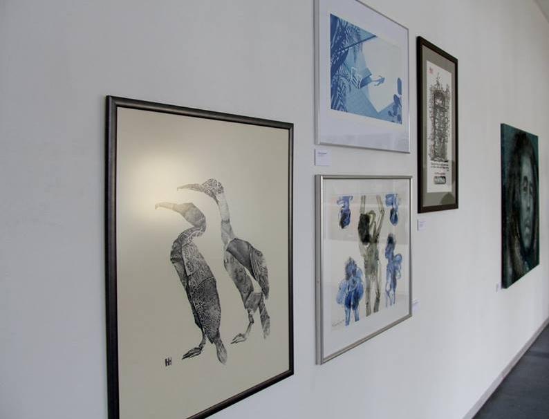 "2018 "" 12+1"" exhibition ,  Meno Parkas , Kaunas, Lithuania"