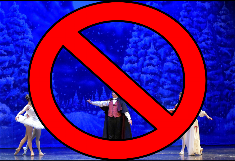 New Mexico Dance Theater's 2014 performance of The Nutcracker