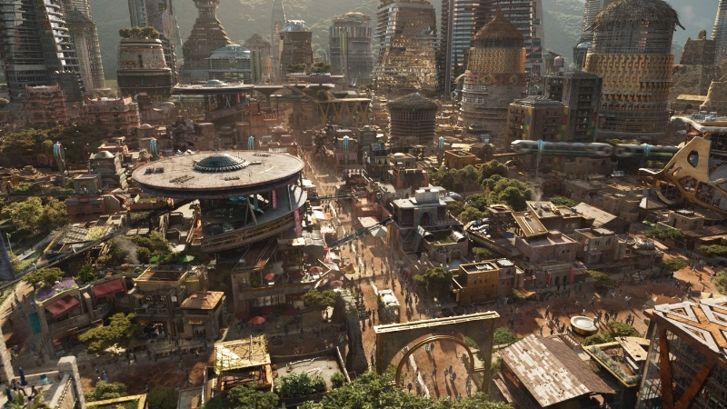 The City/Civilization of Wakanda in Marvel Studios' Black Panther (2018).