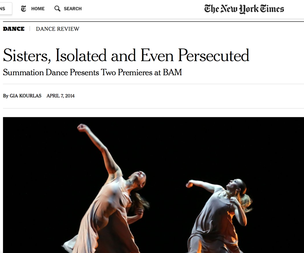 NEW YORK TIMES REVIEW -