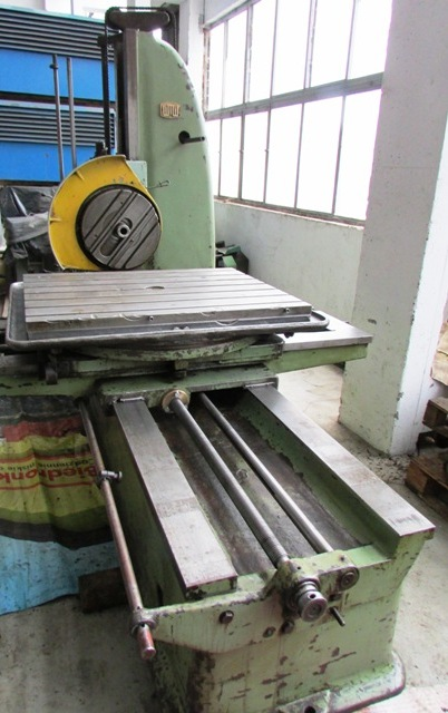 WMW Union BFT 80/3 Boring Machinewith - Tail Stock