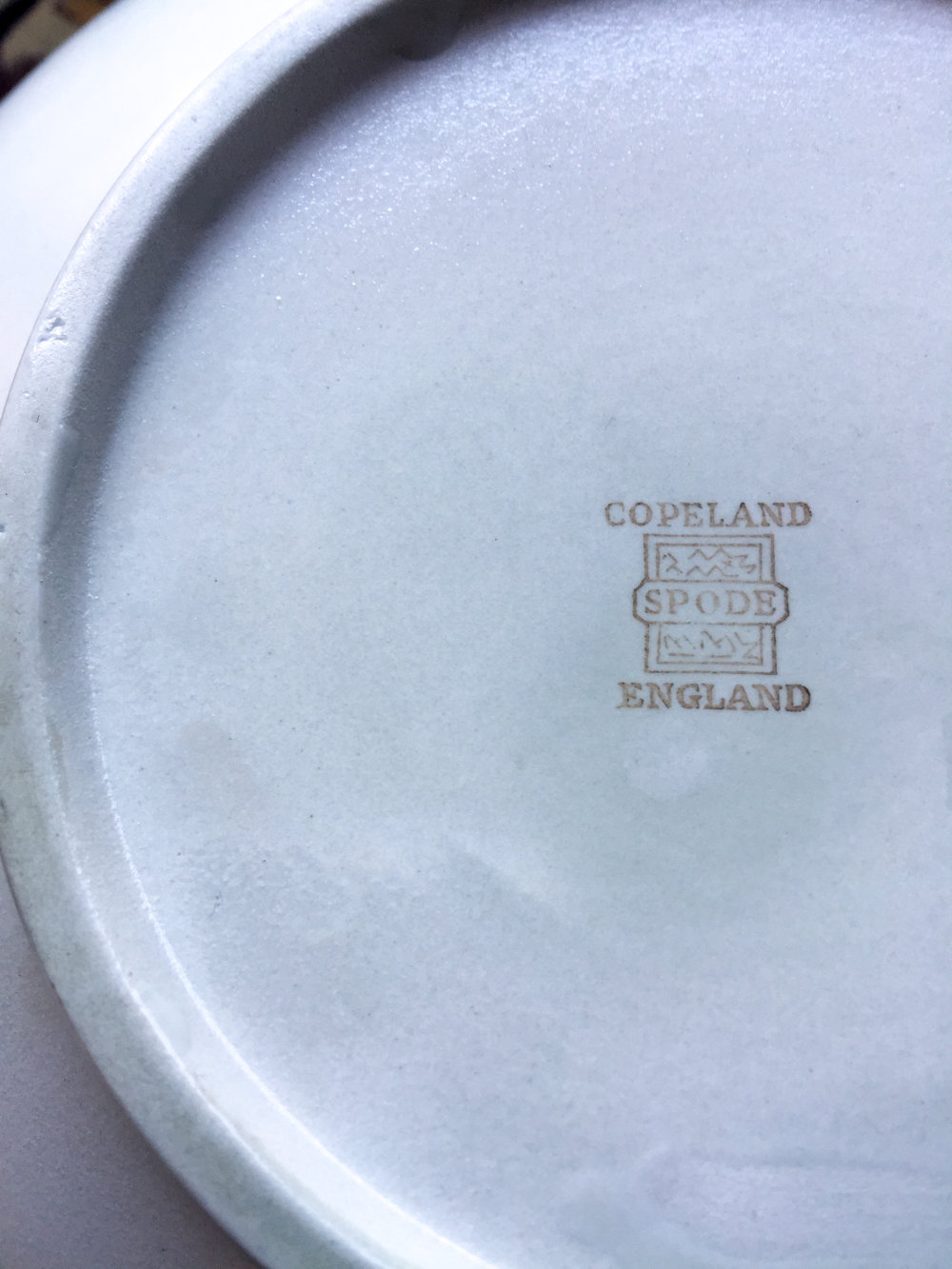 spodes of england pottery bowl sentimental item