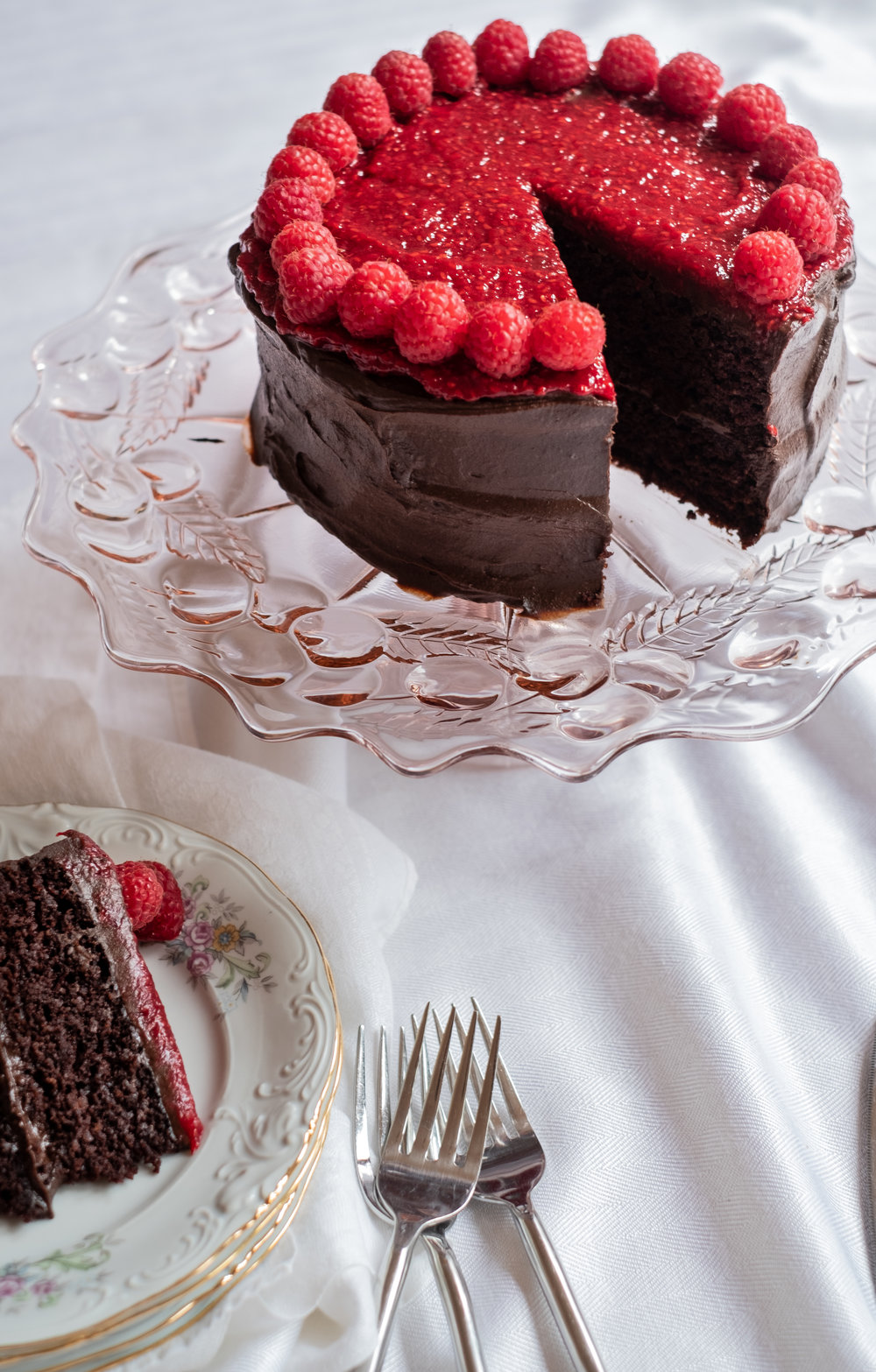 chocolate cake, grain-free, dairy-free, refined sugar-free