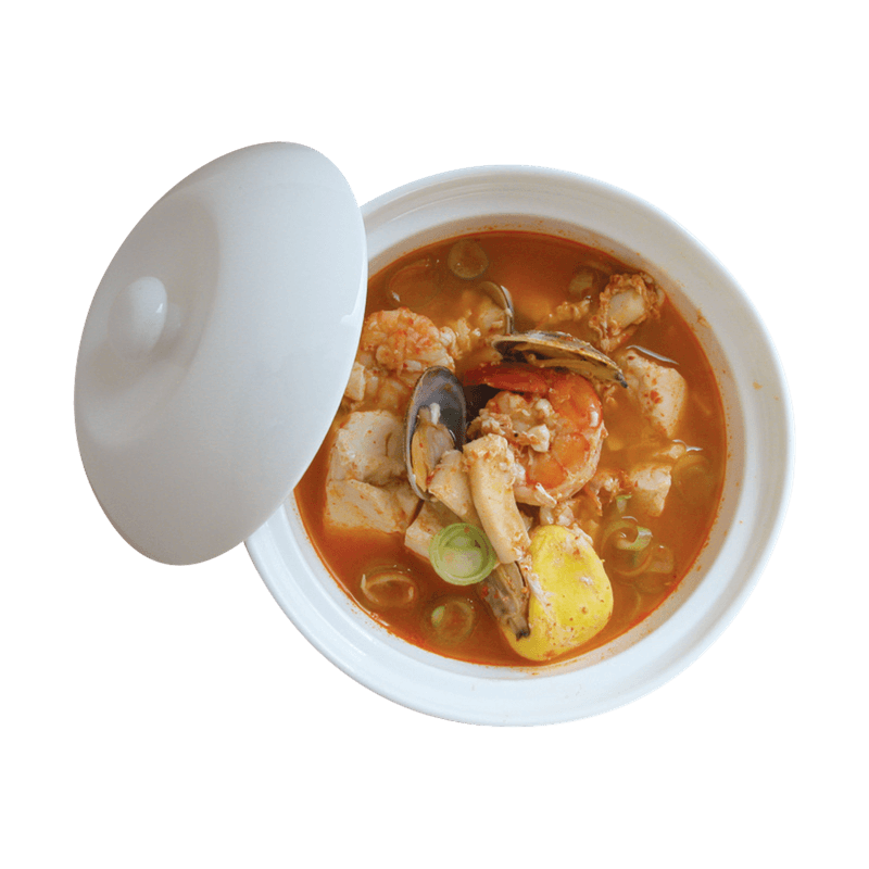 Cooking class in Seoul - Korean food Sundubu Jjigae (Soft tofu stew)