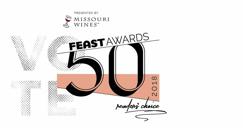 We have been nominated in TWO categories for the Feast 50 Awards - Vote REVIVAL for