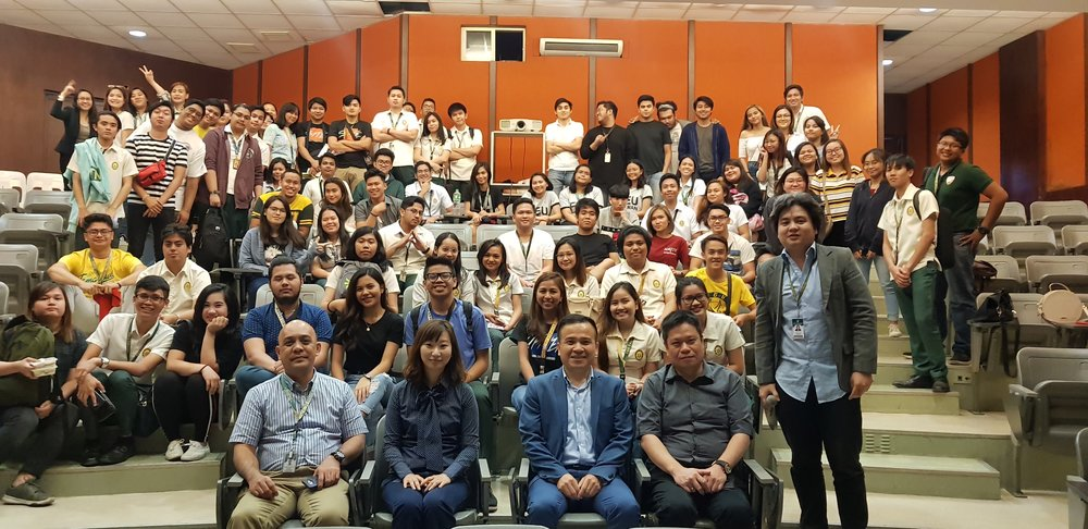 EU Diliman students with the FEU and NSYSU Associates
