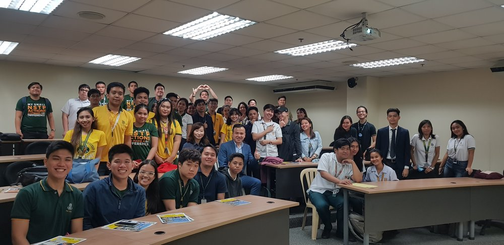 Second Batch – FEU Manila students