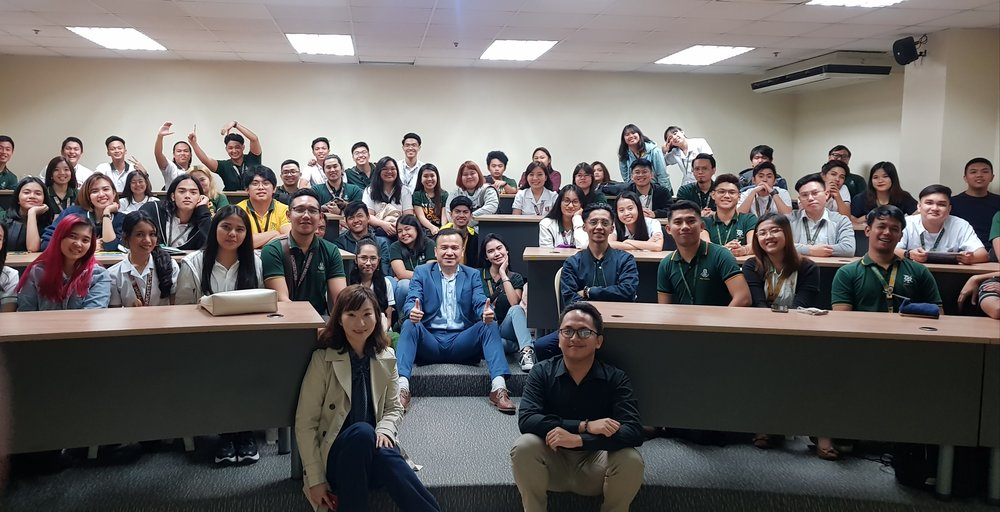 First Batch – FEU Manila students