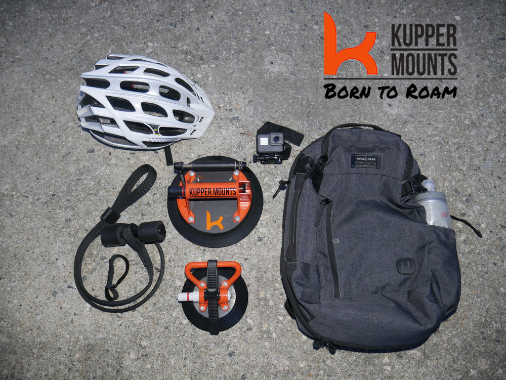 Giving you the freedom to be born to roam - take your kupper mount system on the go, from adventure to adventure