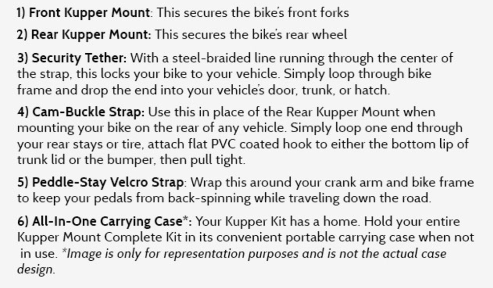 Kupper Mounts Bike Carrier for Cars, Trucks and SUVs - Part 2.jpg