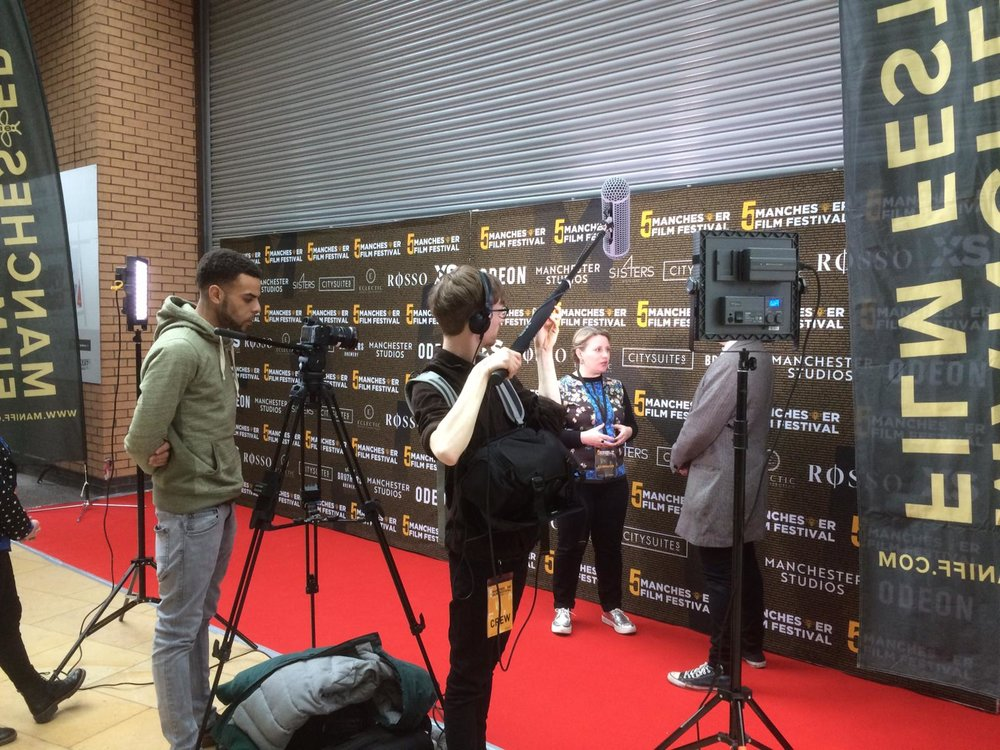 Red Carpet Interview  Manchester Film Festival