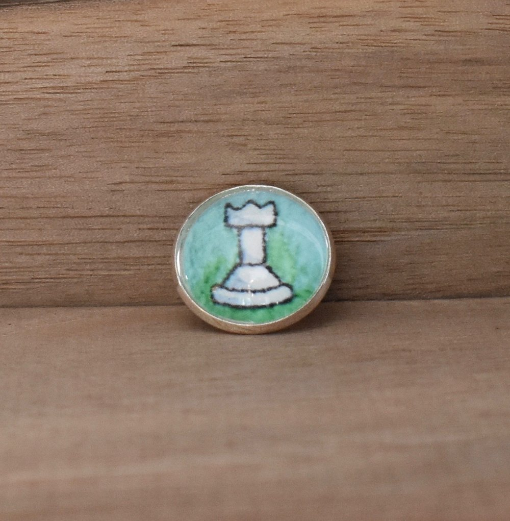 Chess Piece Lapel Pin