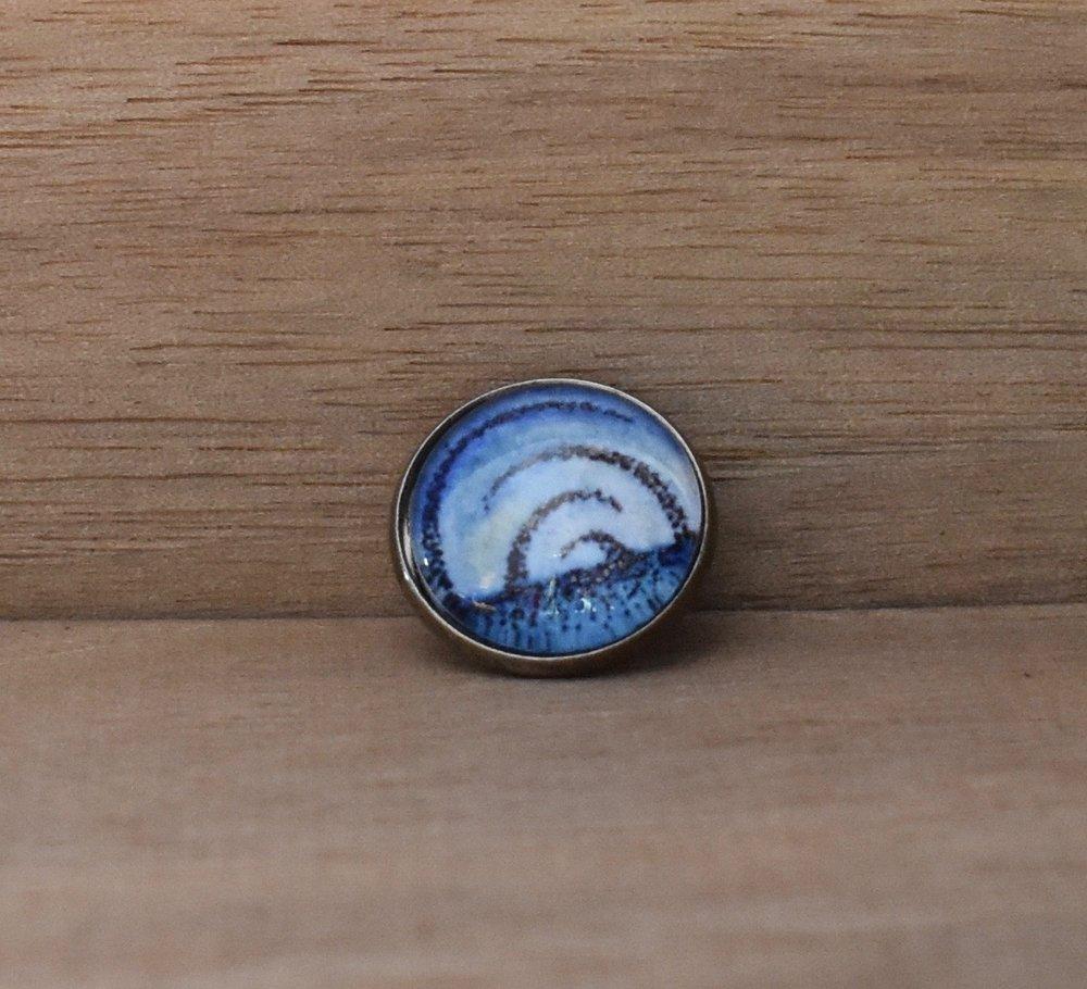 Blue Horizon Lapel Pin