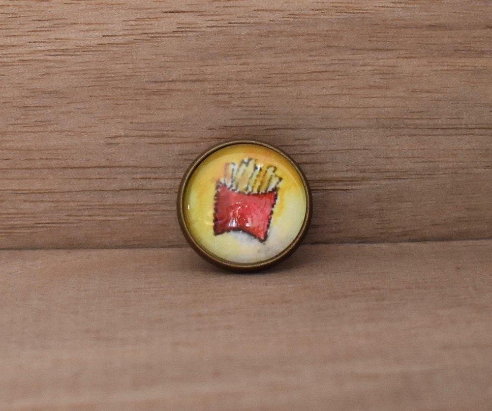 Fries Lapel Pin