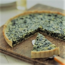 MWliving goat cheese spinach tart.jpg