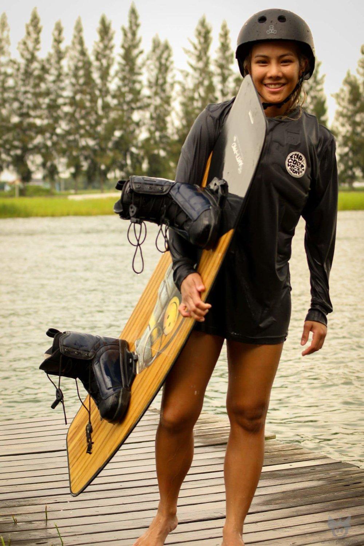 6 เหตุผลที่สาวๆควรจะเล่น Wakeboard -