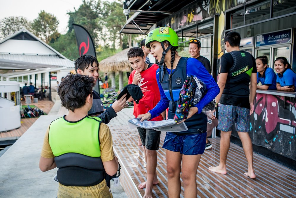 Never done it before? - Don't worry, getting start is very easy! We provide all the basics like, boards, life jacket, helmet, and FREE training. You can also read our Beginner Guide or come join us and we'll guide you all the way through, until you're as good as you want!