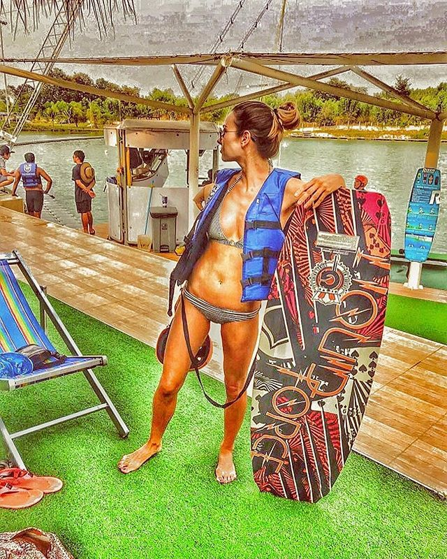 Amazing picture of @ulia_denisova_ at @twppattaya 👍 Come & try wakeboarding at TWP Pattaya ✌ #twp #bestwakepark #thaiwakepark