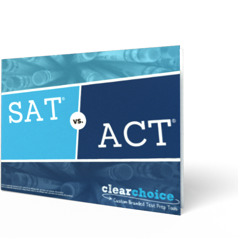 the difference between SAT and ACT ebook