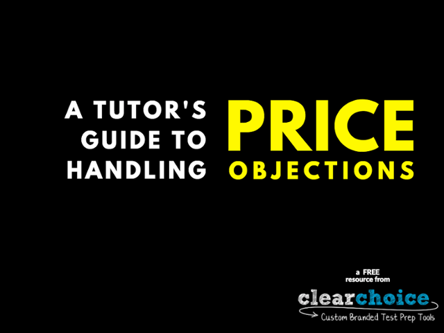 Ebook Cover - A Tutor's Guide to Handling Price Objections