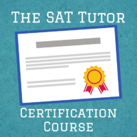 SAT Tutor Certification