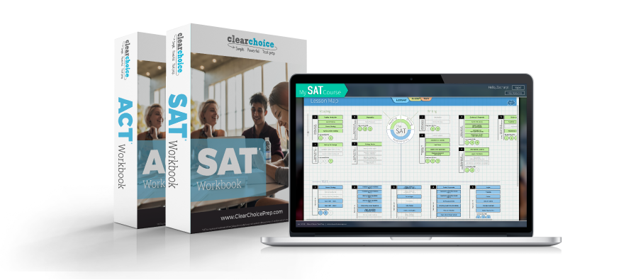 SAT Workbook, ACT Workbook, and Software