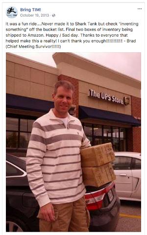 Bring Tim Facebook post