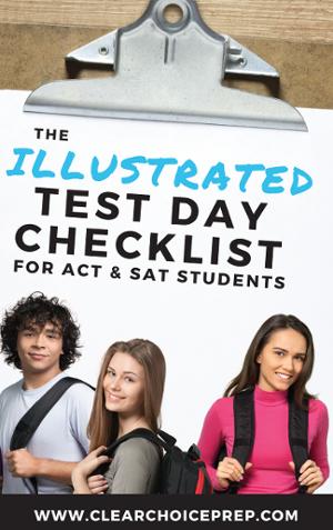 Test Day Checklist