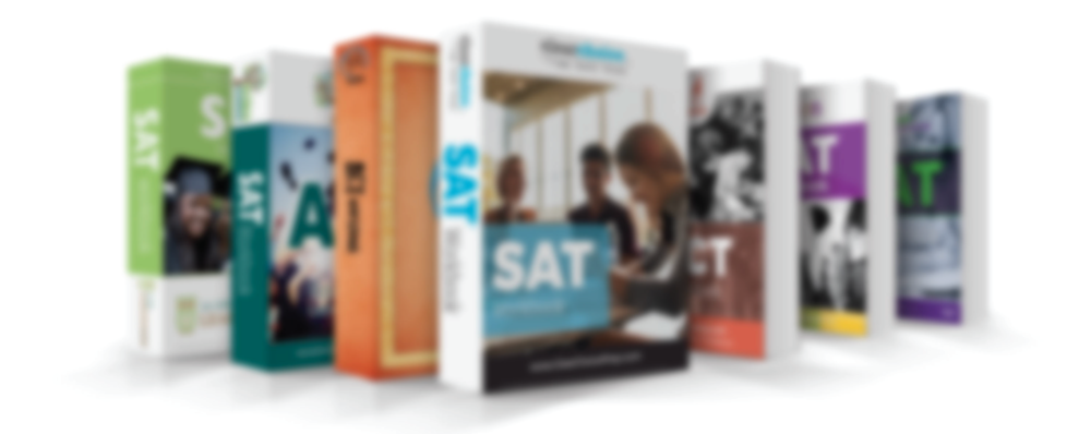 Examples of branded test prep workbooks