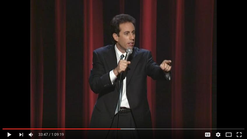 Seinfeld Paradox Video Image