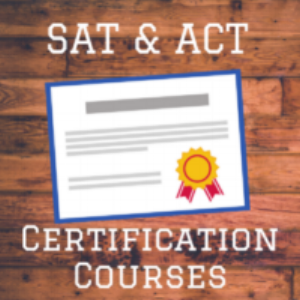 sat and act tutor certification courses